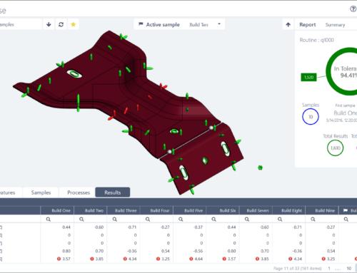 Softwarové řešení pro kontrolu rozměrů a kvality integruje dodavatelské řetězce a vylepšuje 3D vizualizaci