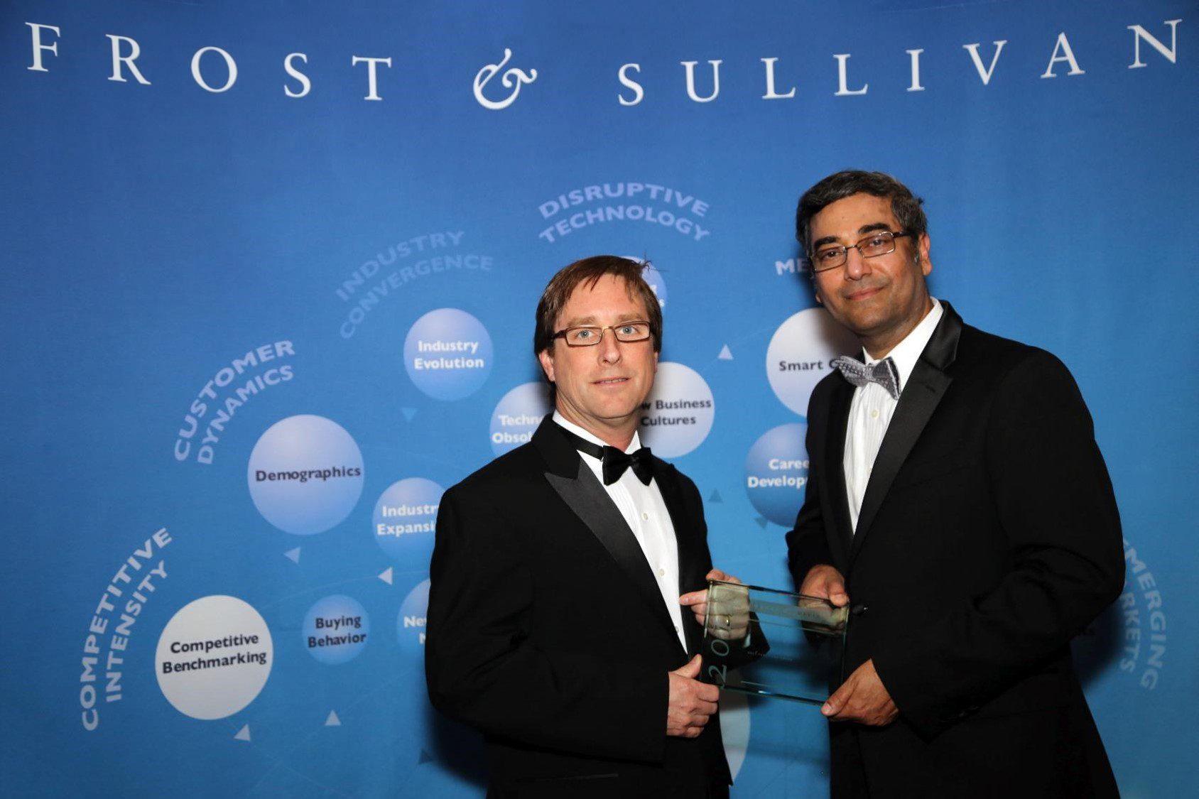 Ralph Marsh from ATS receives Frost & Sullivan Award